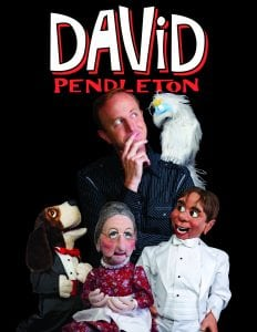 David Pendleton ventriloquist booking agency