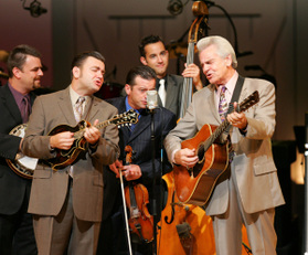 Book or hire Bluegrass Musicians Del McCoury Band