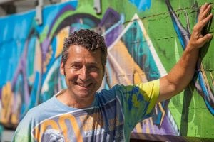 Hire Jeremy Sutton live event painter agency book iPad