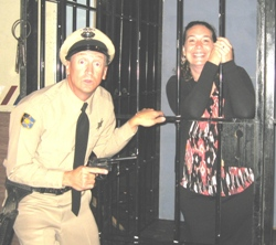 Agent and agency for booking and hiring Barney Fife impersoantor and look-alike Sammy Sawyer