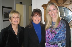 Leanne Morgan and Karen Mills with Mari Sanders