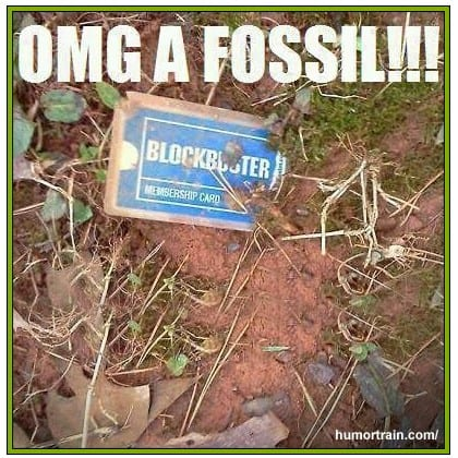 blockbuster card fossil, humor train, comedy guys defensive driving blog