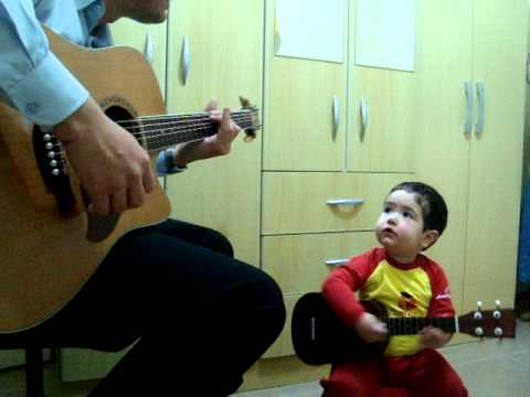 two year old sings the beatles