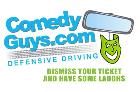 Comedy Guys Logo for Defensive Driving Texas Classes