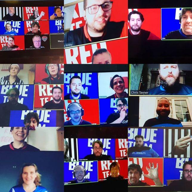 Improv comedy show livestreams