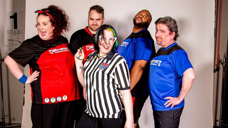 Watch online comedy and learn improv and stand up with ComedySportz