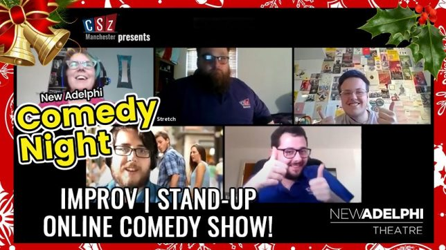 Watch university of salford students online comedy