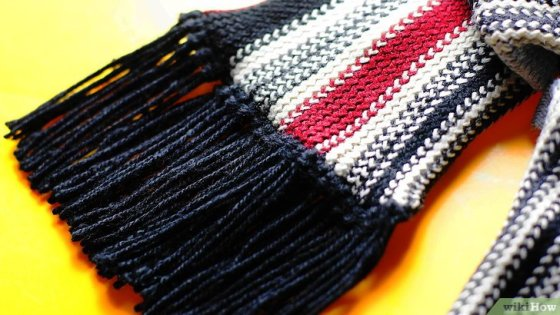 Immagine titolata Add Fringe to a Crochet or Knit Project Step 13