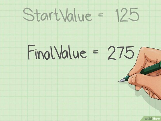 Immagine titolata Calculate an Annual Percentage Growth Rate Step 2