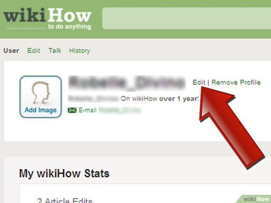 Immagine titolata Make a wikiHow User Page Step 4