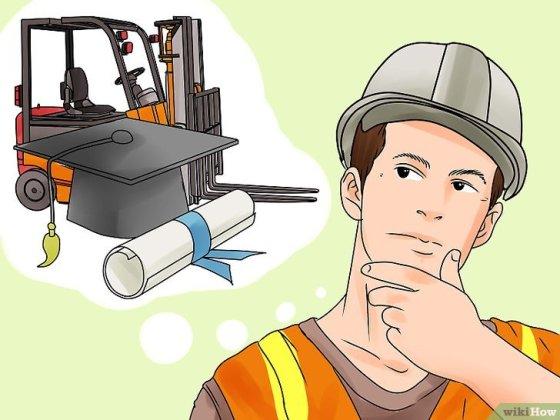 Immagine titolata Become a Certified Forklift Driver Step 2