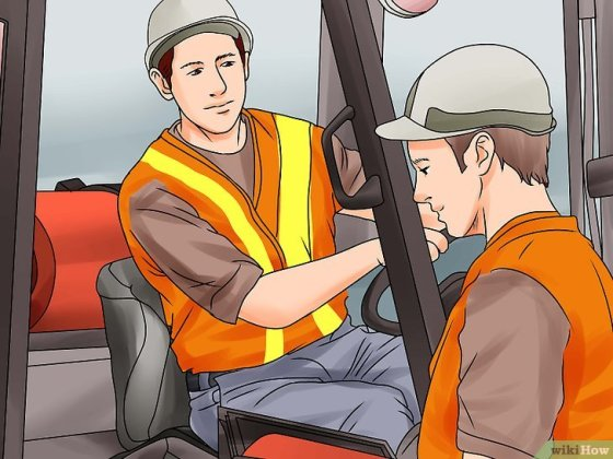 Immagine titolata Become a Certified Forklift Driver Step 3