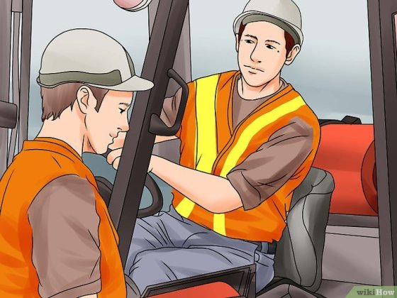 Immagine titolata Become a Certified Forklift Driver Step 6
