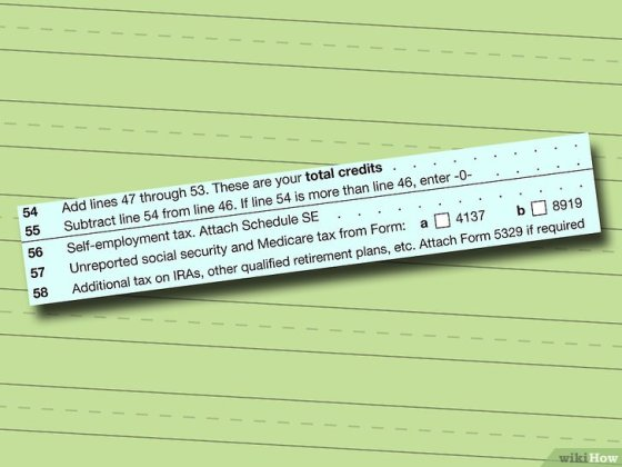 Immagine titolata Fill out IRS Form 1040 Step 11