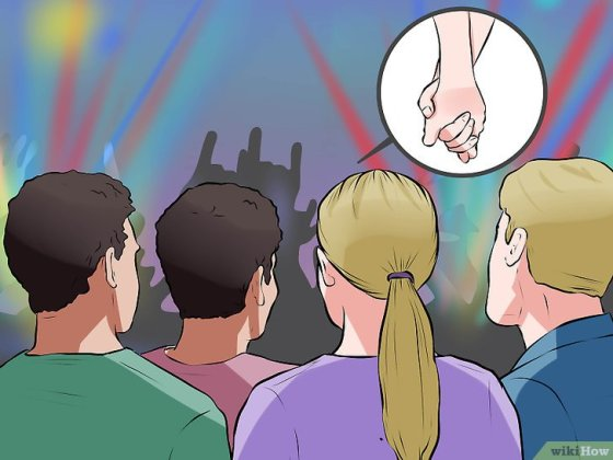 Immagine titolata Get Front Row at a Concert Step 6