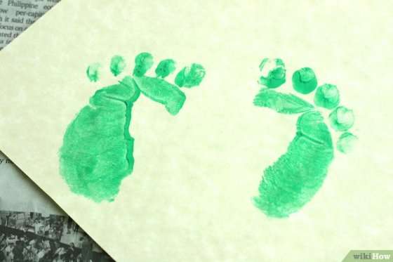 Immagine titolata Make Leprechaun Footprints Step 7