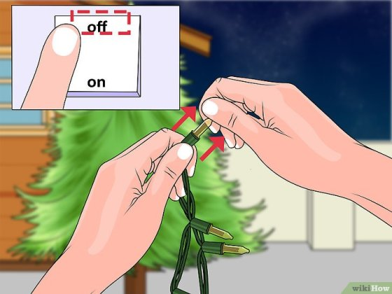 "Immagine titolata Remove the ""Twinkle"" Feature from Christmas Lights Step 4"