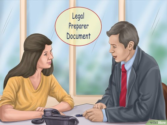 Immagine titolata File Divorce Papers Without an Attorney Step 4