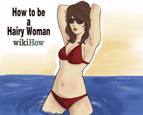 Immagine titolata How to Be a Hairy Woman introrevised