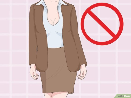 Immagine titolata Dress for Success as a Woman Step 3
