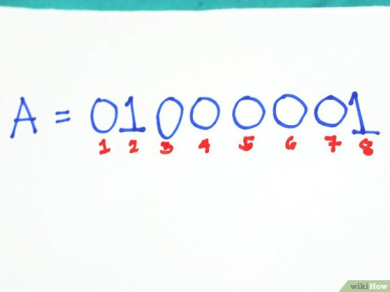 Immagine titolata Write Capital and Lowercase Letters in Binary Step 4
