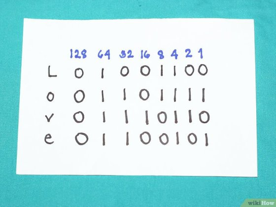 Immagine titolata Write Capital and Lowercase Letters in Binary Step 6