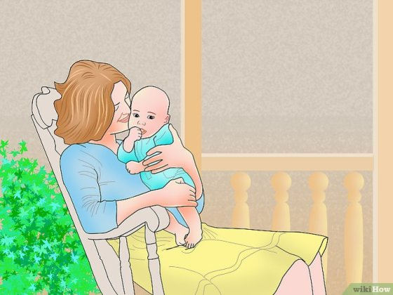 Immagine titolata Get a Teething Baby to Sleep Step 9