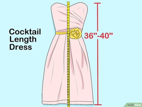 Immagine titolata Measure Dress Length Step 6