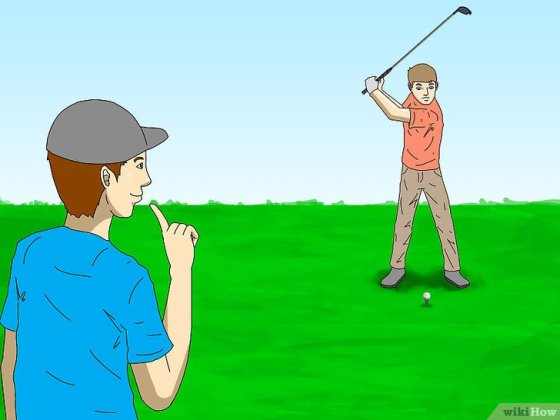 Immagine titolata Learn to Play Golf Step 1
