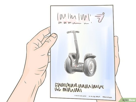 Immagine titolata Ride a Segway Safely Step 1