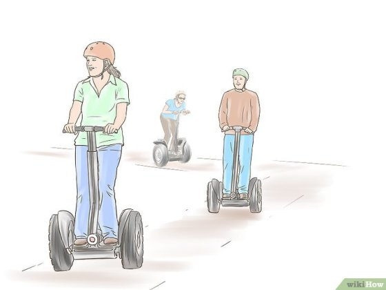 Immagine titolata Ride a Segway Safely Step 6
