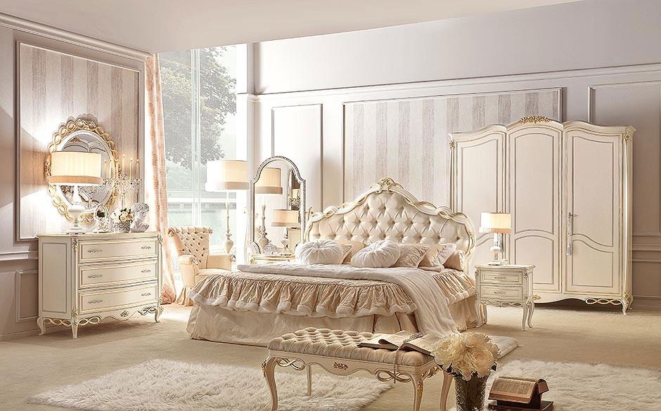 Arredare una camera da letto in stile classico significa dare vita ad un ambiente confortevole, accogliente e arricchito da mobili caratterizzati da forme. Camere Da Letto Stile Classico