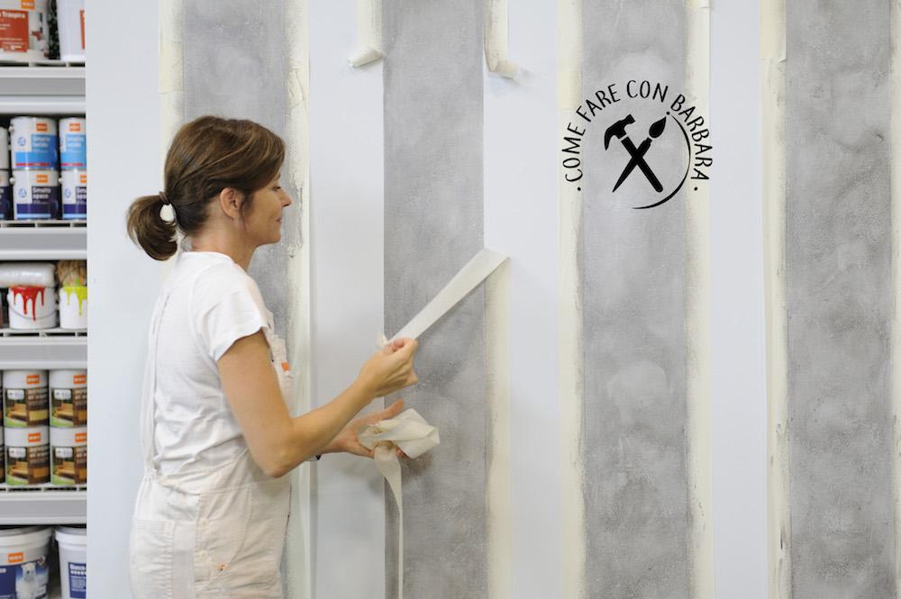 Dipingendo pareti e soffitto dello stesso colore, oppure optare per righe,. Come Dipingere Una Parete A Righe Verticali
