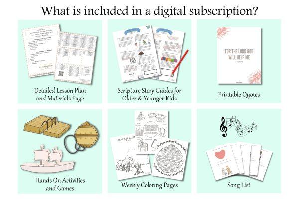 Come follow me ideas: Come Follow Me FHE Subscription plan