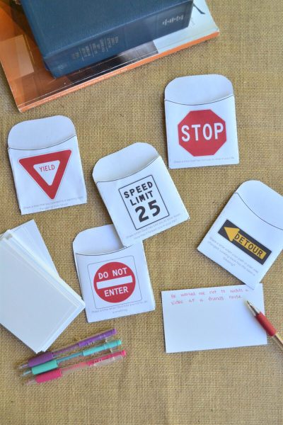 traffic signs of life LDS game