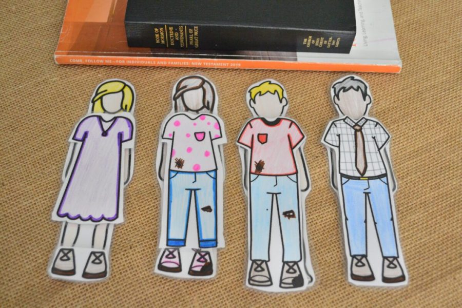 paper dolls to show newness of life