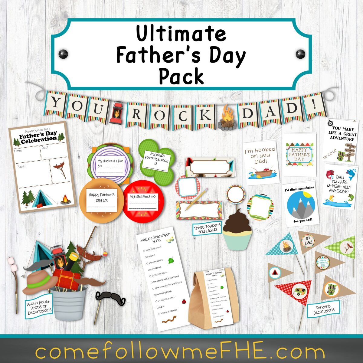 Father's Day Bundle by Come Follow Me FHE