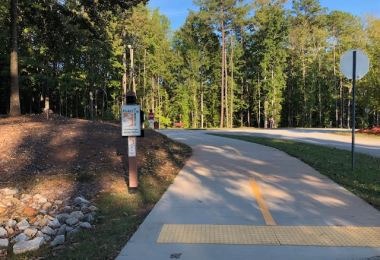 Clayton Connects Trail in International Park