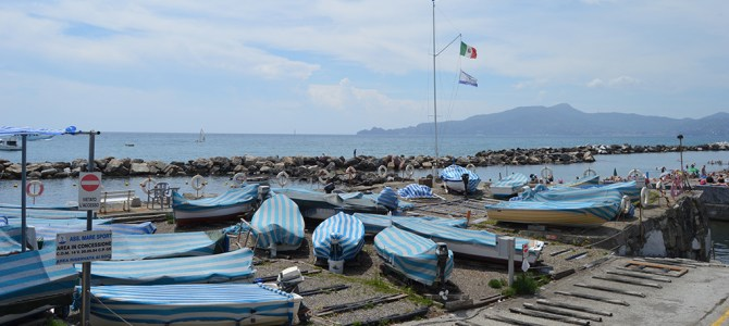Chiavari: Beautiful Beach and Quiet Streets