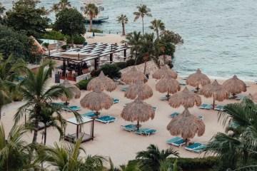Curaçao hotel on the beach