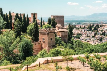 Alhambra, Granada (Tickets to the Alhambra)