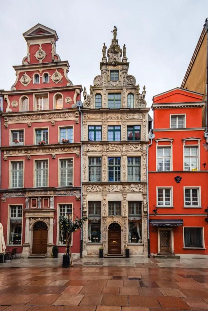 Gdansk buildings