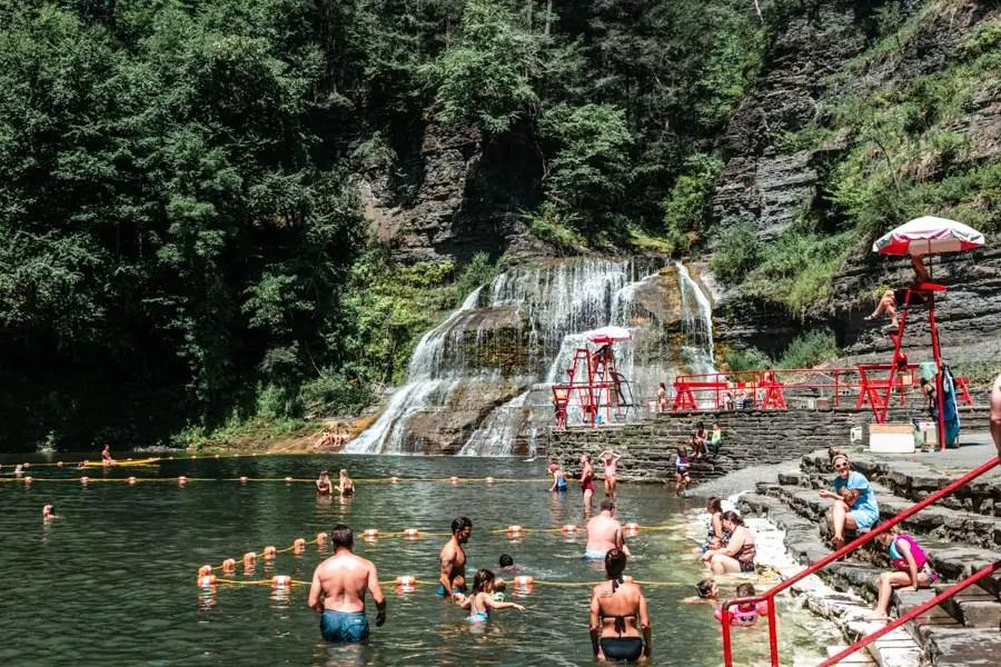 Enfield Falls Robert H. Treman State Park