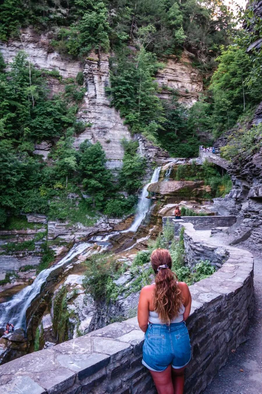 Robert H. Treman State Park Lucifer Falls