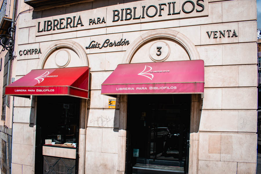 Librería Bardón - Best Bookstores in Madrid