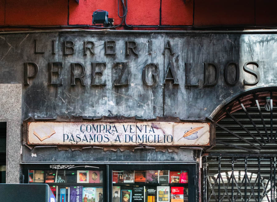 The best bookstores in Madrid