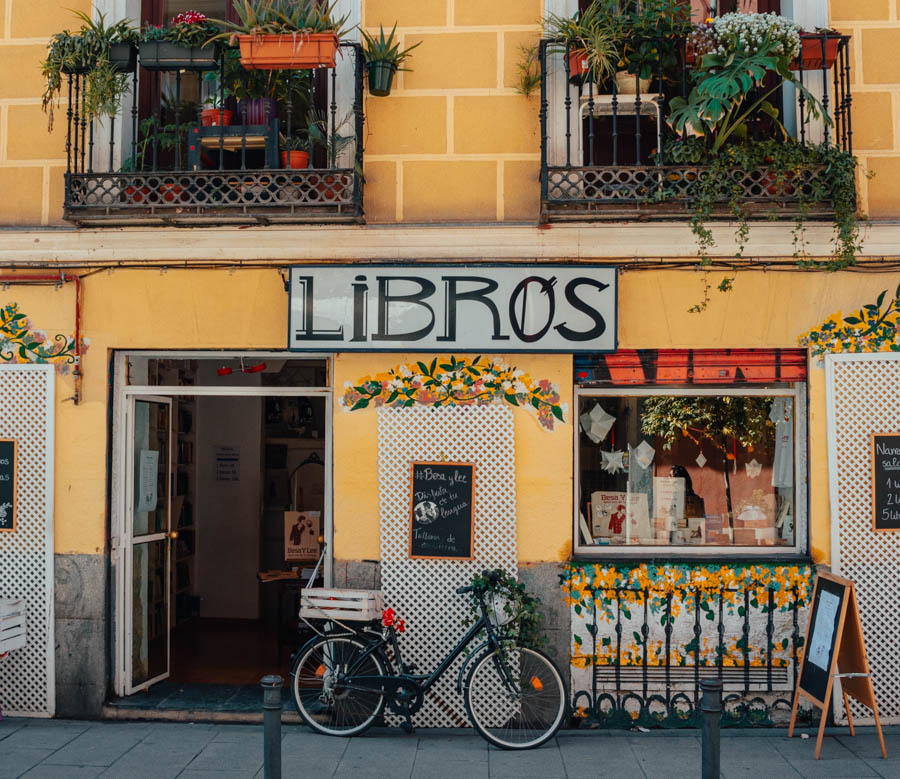 Libros para un Mundo Mejor: Best Bookstores in Madrid