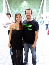 Nía Pulgarín y Carlos Naranjo