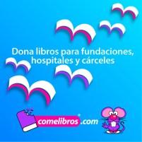 Donaciones libros con Comelibros.com