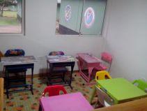 Sección infantil de la Biblioteca del Batallón de Infantería #23 en Bahía Solano